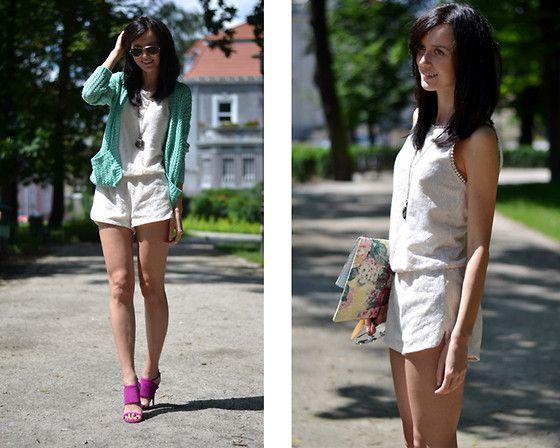 Lace playsuit (by Daisyline .) http://lookbook.nu/look/3660619-Lace-playsuit