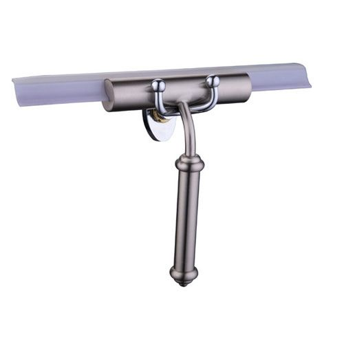 Allied Brass Polished Nickel Smooth Handle Squeegee
