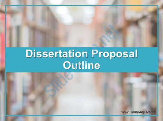 Dissertation Proposal Outline Powerpoint Presentation Slide Slide01