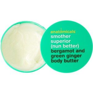 Anatomicals Bergamot and Green Ginger Body Butter.