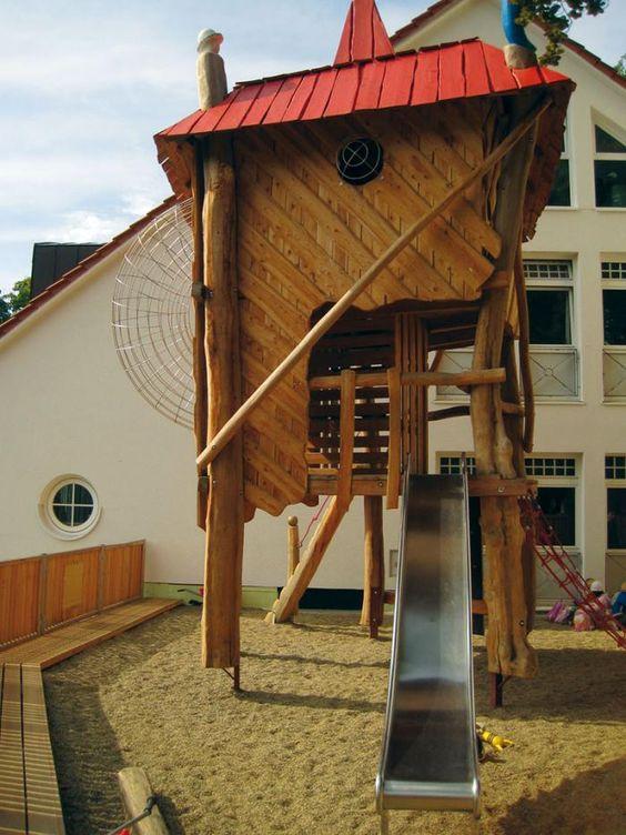 Spielen und Klettern   Jürgen Freiberger - Holz und Spielplatzbau