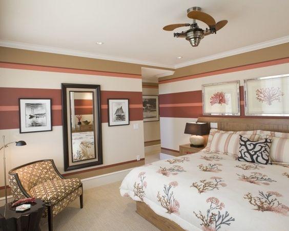 schlafzimmer wand dekorieren: coole deko ideen und farbgestaltung, Innenarchitektur ideen