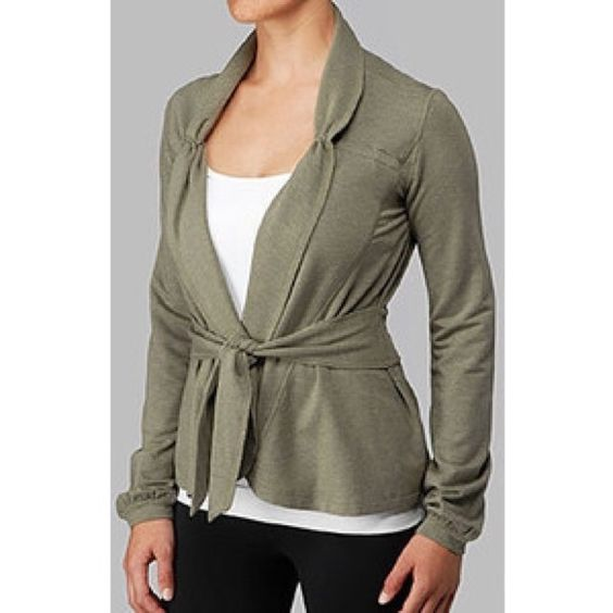 Lulu- Dance Wrap- Like New Worn only a few times. Great colors. No holes or stains. Very soft lululemon athletica Jackets & Coats Utility Jackets