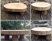 Rustic Cake stand.  Great for special occasions