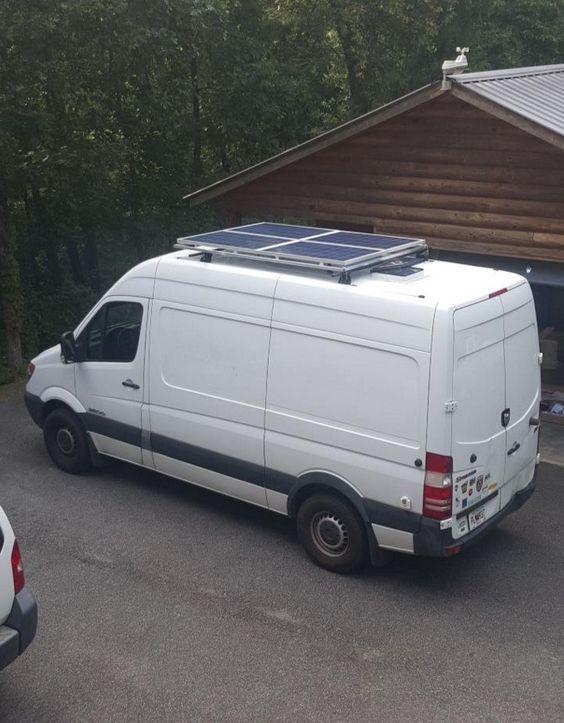 Man Converts Sprinter Van into a Stealthy Mini-Motorhome