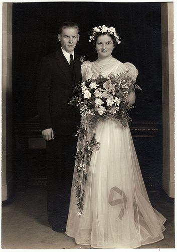 Alta & Walt's Wedding 1938 by Josh Phillipson, via Flickr