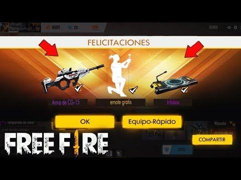 Nuevo Bug Para Obtener Emotes Gratis En Free Fire Nuevo Evento De Free Fire Youtube Youtube Evento Free
