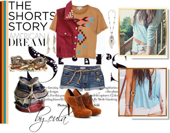 """The Shorts Story"" by eula-eldridge-tolliver on Polyvore"
