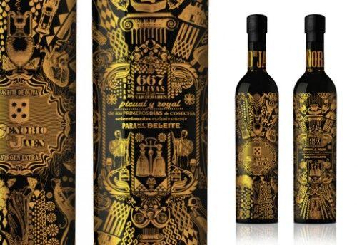 Senorio De Jaen Wine. Is that gold? PD