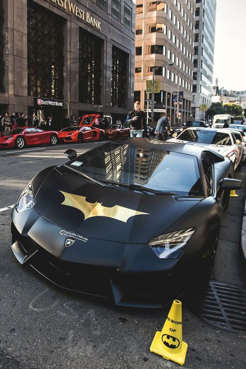 Lamborghini Bat-Aventador⚡️Get Tons Of Free Traffic And