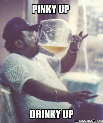 Pinky up, drinky up