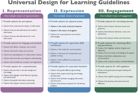 Tools To Teach Every Student Differentiation Universal Design