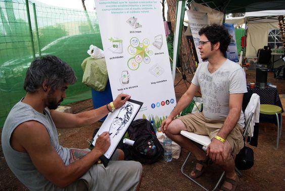 Nuestro equipo disfrutando del Festival BioRitmo y sus actividades.