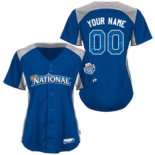 All-Star 2012 National League Women's Personalized Cool Base BP Jersey by Majestic Athletic