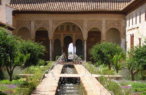 The Alhambra, Grenada, Spain