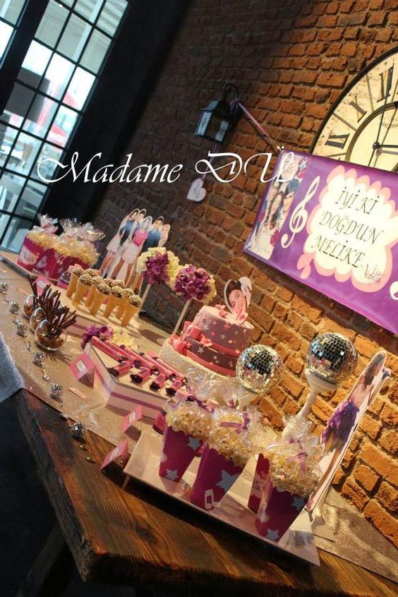 Parti ve Kutlama: Melike'nin Violetta Temalı Doğumgünü Disney Violetta themed birthday party