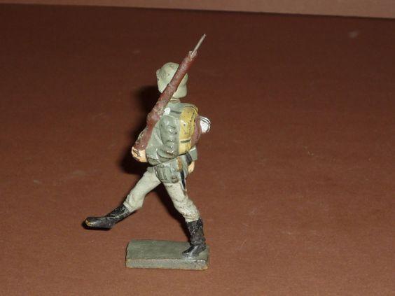 7,5 cm Serie Lineol Germany Soldat im Stechschritt, Augen rechts Masse um 1938   eBay
