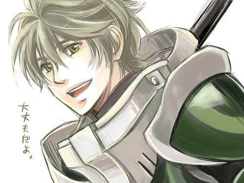 Stahl from Fire Emblem ... //////stop being so cute you ...