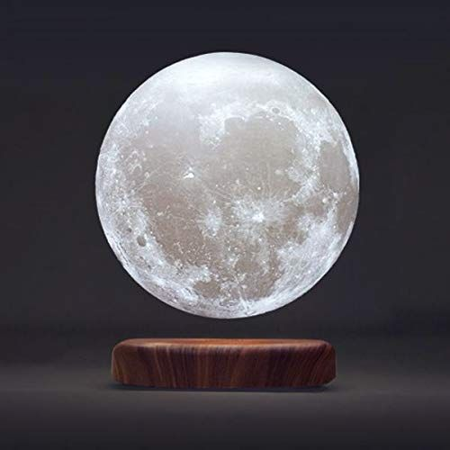 Leviluna 5 9 15cm Magnetic Levitating Moon Lamp Moon Light Lamp Levitation Apollo Box