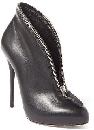 Alexander McQueen Zipper Bootie (Women)