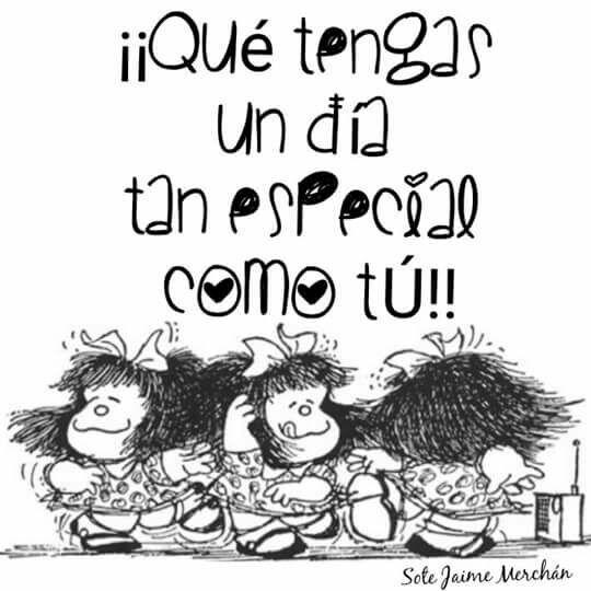 A Mafalda Feliz Cumpleaños Mafalda Cumpleaños Mafalda Y