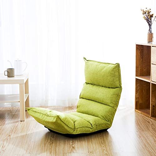 Jiaqi Folding Sofa Adjustable Floor Chair Comfortable Back Support