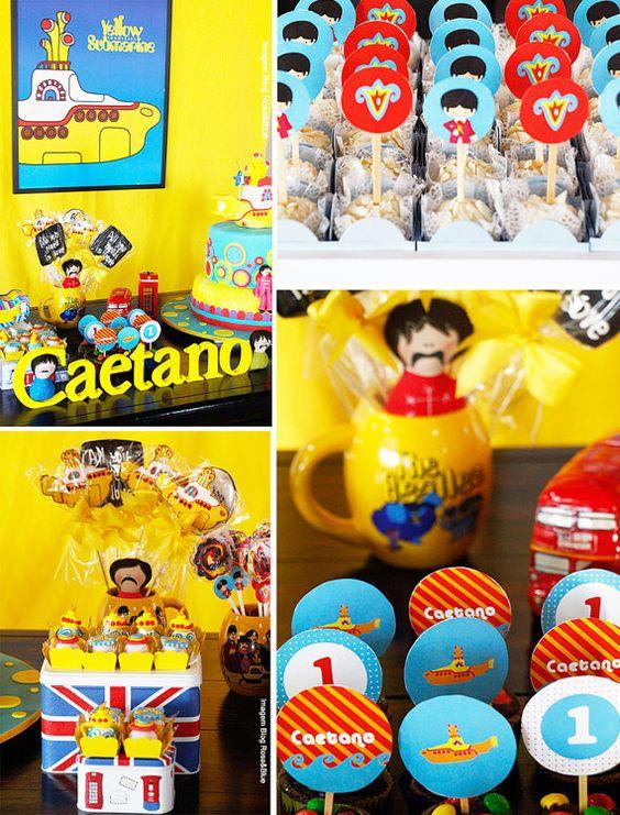 Yellow submarine children's party