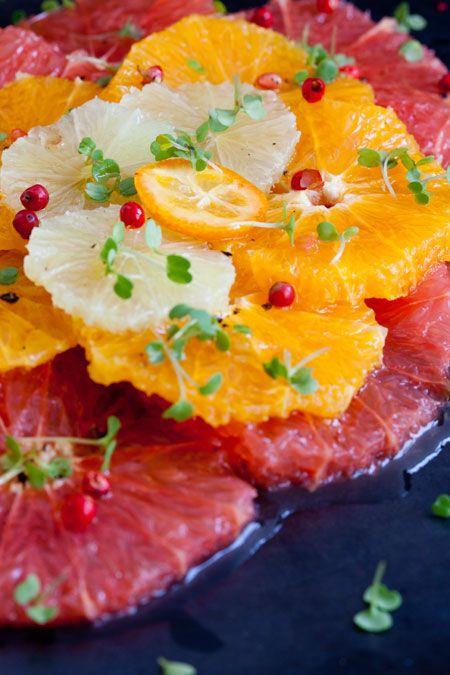 Ensalada de citricos (citrusvruchten salade):