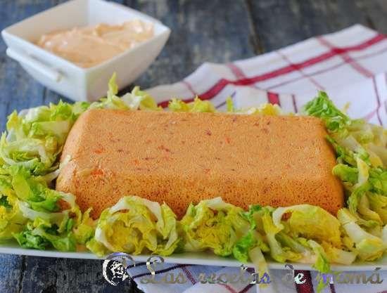 Pastel de atún en Microondas | Las Recetas de Mamá