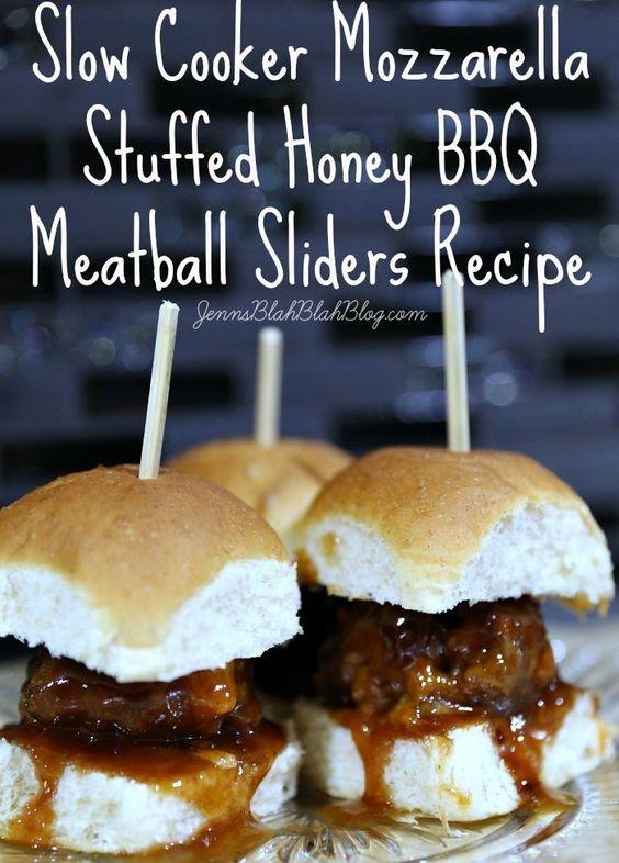 Bbq meatballs, Meatball sliders and Slider recipes on Pinterest