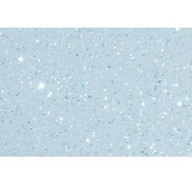 Feuille Roboflex textile 21 cmx 29 cm Glitter 2 'Silhouette Cameo' Blanc