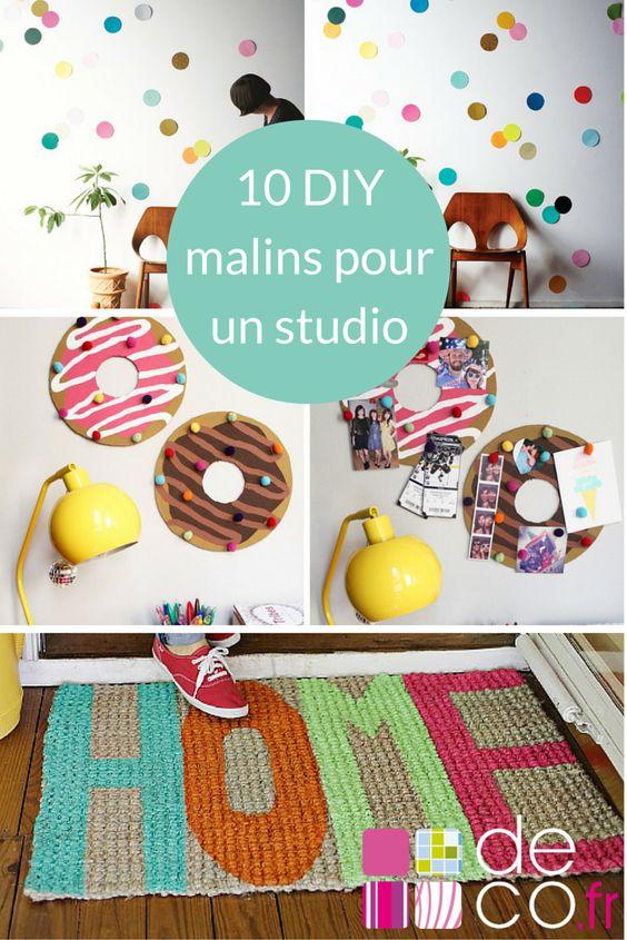 10 diy malins pour un studio d tudiant studios photos et bricolage. Black Bedroom Furniture Sets. Home Design Ideas