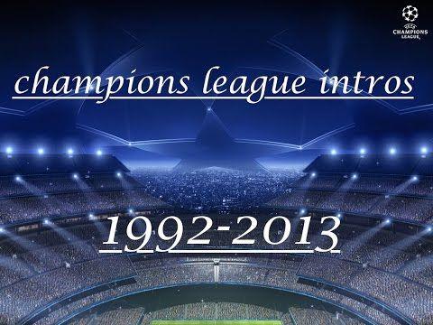 Champions League All Intro 1993 2013 Youtube Champions League Champion League