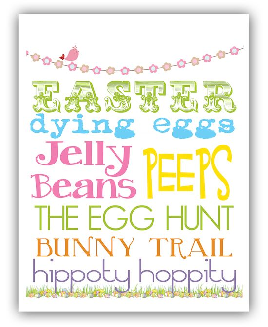 Off to go print this out right now!! Free Easter Printable from @The Polka Dot Press!