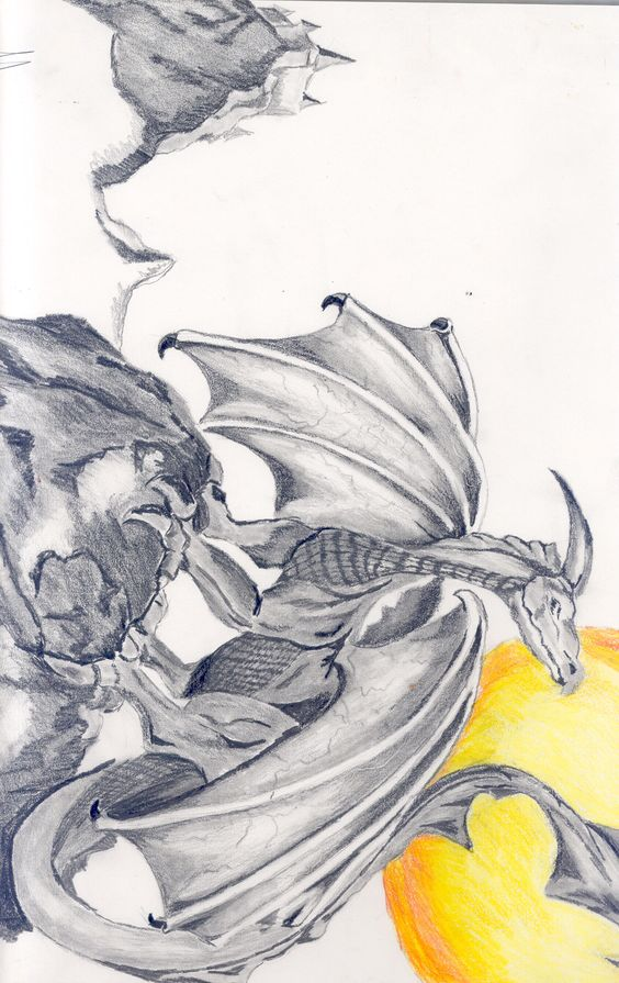 pencil - dragon