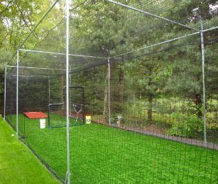 backyard batting cage z baseball batting cage ideas pinterest