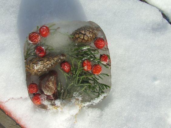 jégkoszorú téli játékötlet