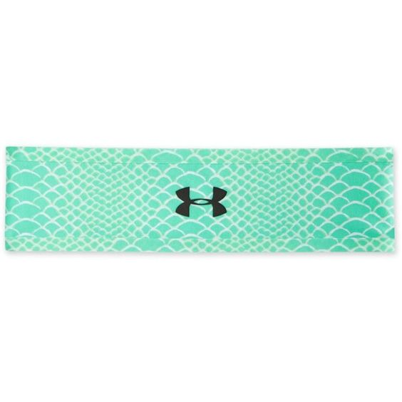 Under Armour Bonded Printed Headband ($15) ❤ liked on Polyvore featuring accessories, hair accessories, mint, under armour headbands, hair band headband, under armour, head wrap headband and hair bands accessories