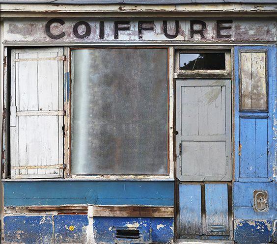 Salon de coiffure d'antan. / By InCréation.