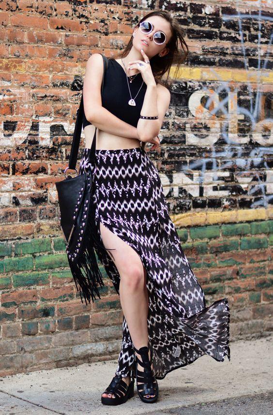 Boho grunge ☮  #shellystuckman #arizonagirl #fashion #blogger #ootd #iweargarage #smootd