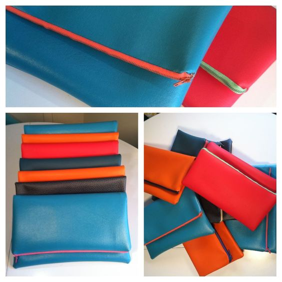 Busty's Fun Bags Fold Over Clutches