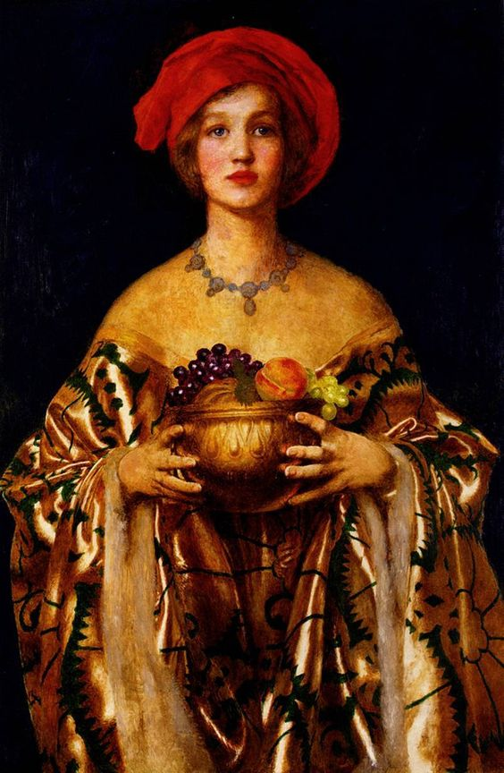 """The Golden Bowl"" by Frank Cadogen Cowper (1955)"