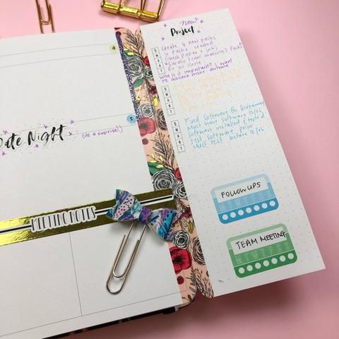 Archer And Olive Undated Planner//Agenda