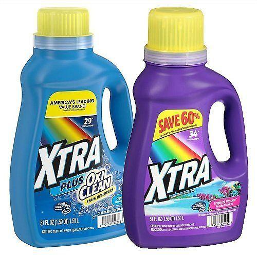 51 Oz Xtra Liquid Detergent 3 Options Walgreens Walgreens