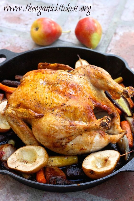 Skillet chicken, Skillets and Pears on Pinterest