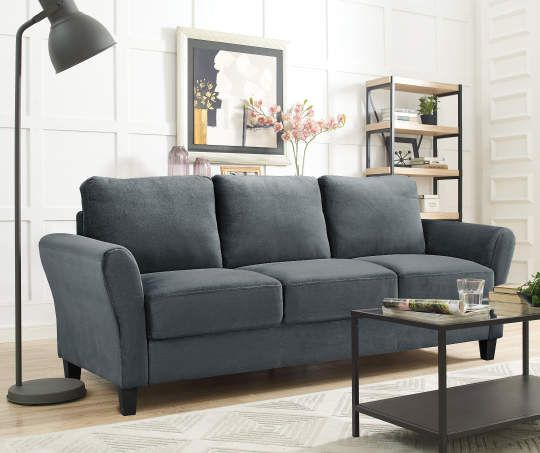 I Found A Waverley Dark Gray Sofa At Big Lots For Less Find More