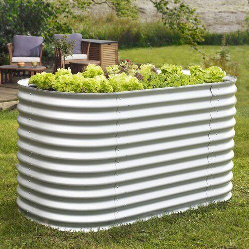 Hochbeet Basic Vitavia Gewachshauser Farbe Zincalume Hochbeet Gartengestaltung Ideen Gewachs