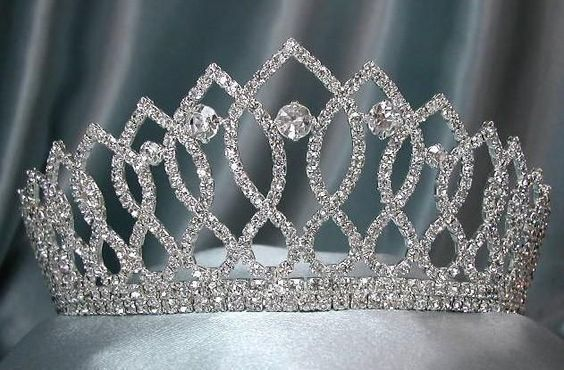 Rhinestone Bridal Queen Princess Miss Beauty Queen Crown Tiara