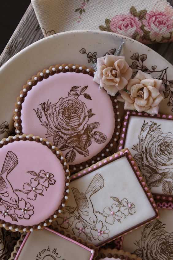 Want to learn how to stamp cookies!  Julia Usher | Recipes for a Sweet Life | Home