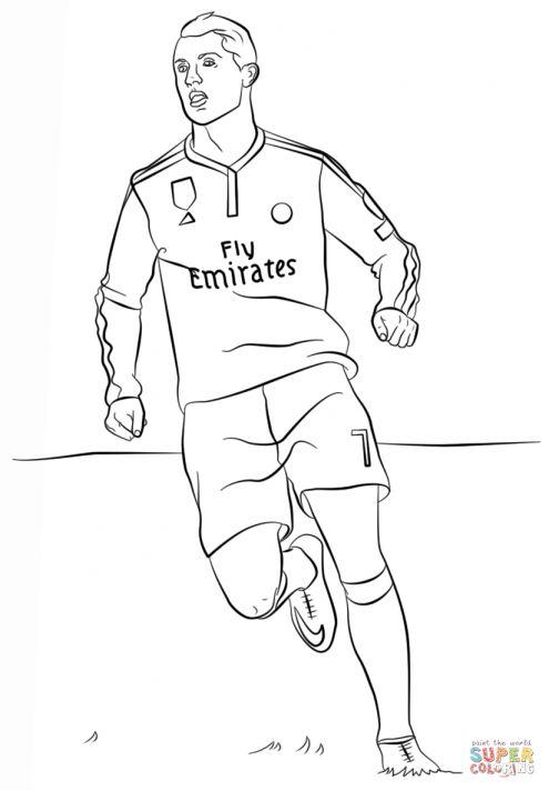 8 Ronaldo Coloring Pages Ronaldo Cristiano Ronaldo Futbolcular